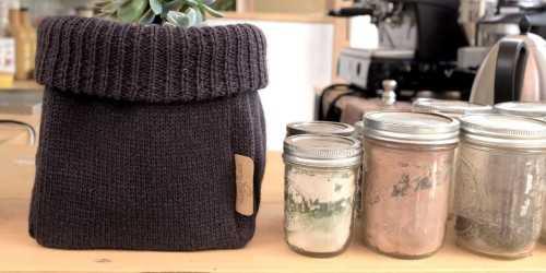 Knitted Box Dark Grey DécorStorage And Space Organization