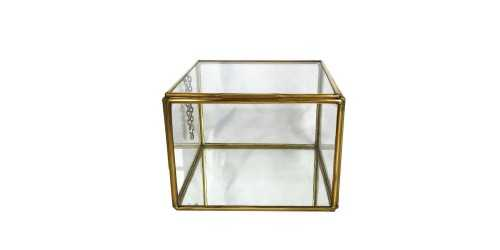 Hako Copper Jewelry Box Large DécorHome Decorations