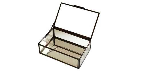 Vidre Jewelry Box Bronze DécorHome Decorations