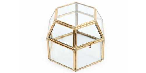 Hex Box Terrarium DécorHome Decorations