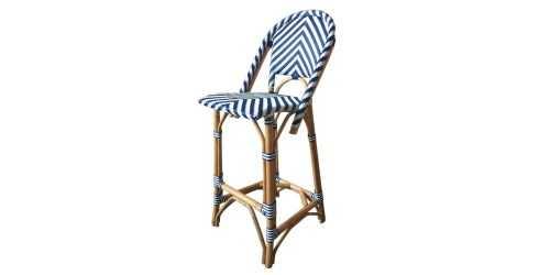 Bermuda Bistro Bar Stool Blue FurnitureTables And ChairsChairs