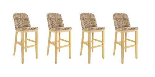 Foto produk  Kanina Bar Chair - Set Of 4 di Arsitag