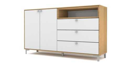 Case Cabinet Set Type D Dark Grey FurnitureStorage Systems And Units