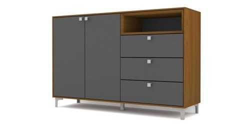 Foto produk  Case Cabinet Set Type D - Black di Arsitag