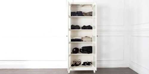 Foto produk  Alyssa Glass Door Cabinet - White di Arsitag