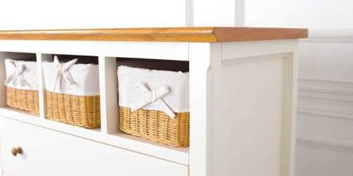 Adante Cabinet Tall - Natural FurnitureStorage Systems And Units