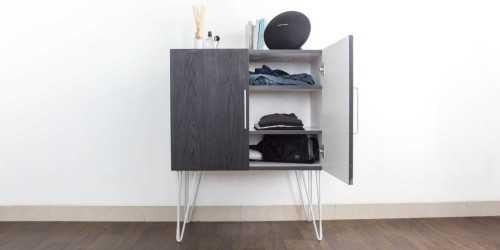 Foto produk  Iris 2 Door Cabinet Dark Finish di Arsitag