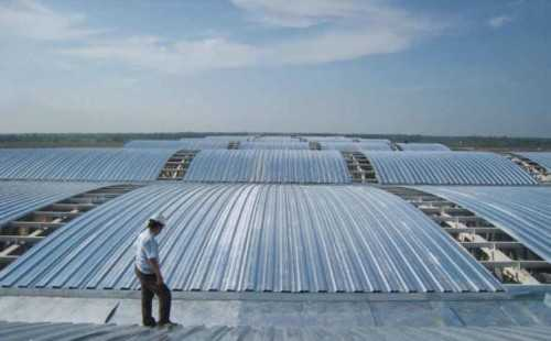 Steel Flexi Deck Curve ConstructionRoofsSheet Metal Work And Accessories For Roofs