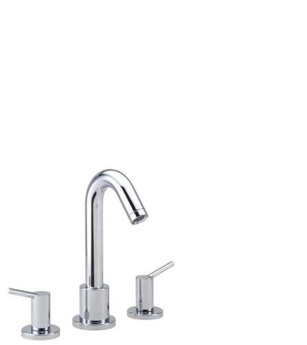 3-Hole Rim Mounted Bath Mixer BathroomBathroom TapsBathtub Taps