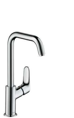 Single Lever Basin Mixer 240 With Swivel Spout And Pop-Up Waste Set BathroomBathroom TapsWashbasin Taps