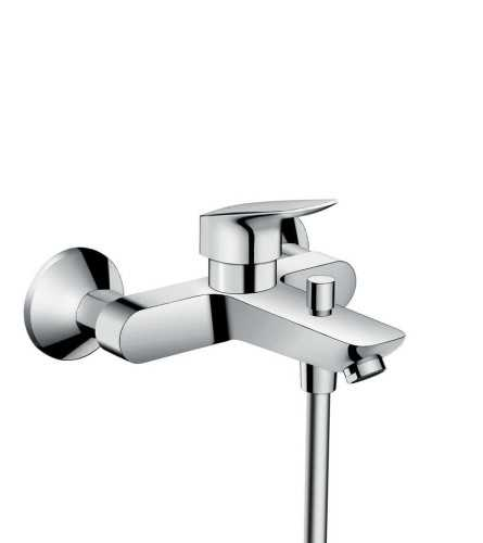 Single Lever Bath Mixer For Exposed Installation BathroomBathroom TapsBathtub Taps
