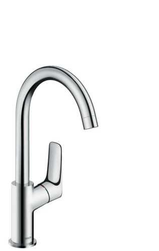 Single Lever Basin Mixer 210 With Swivel Spout And Pop-Up Waste Set BathroomBathroom TapsWashbasin Taps