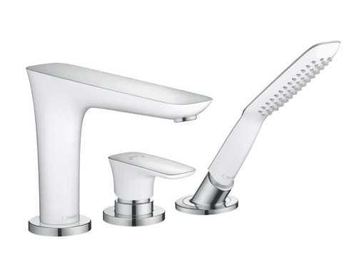 Hg 3-Hole Bath Mixer Puravida F-Set BathroomBathroom TapsWashbasin Taps