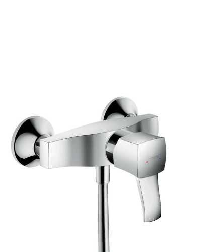 Single Lever Shower Mixer For Exposed Installation With Lever Handle BathroomBathroom TapsBathtub Taps