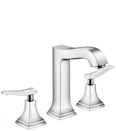 Foto produk  3-Hole Basin Mixer 160 With Lever Handle And Pop-Up Waste Set di Arsitag