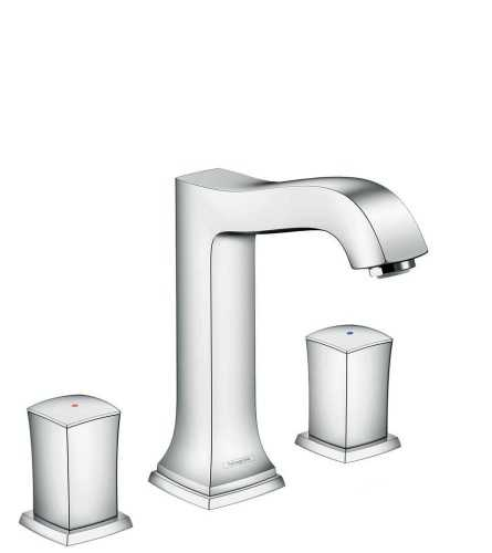 Foto produk  3-Hole Basin Mixer 160 With Zero Handle And Pop-Up Waste Set di Arsitag