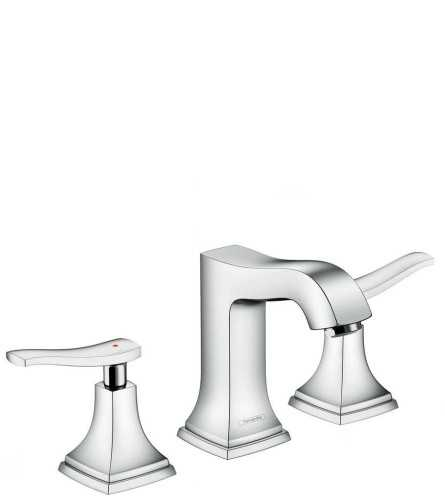 Foto produk  3-Hole Basin Mixer 110 With Lever Handle And Pop-Up Waste Set di Arsitag