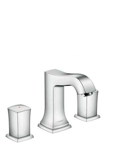 Foto produk  3-Hole Basin Mixer 110 With Zero Handle And Pop-Up Waste Set di Arsitag