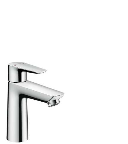 Single Lever Basin Mixer 110 With Lever Handle Without Waste Set BathroomBathroom TapsWashbasin Taps