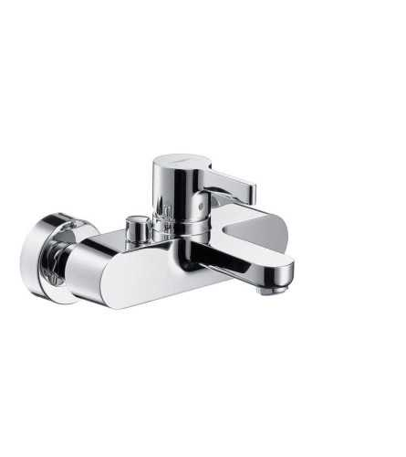 Hg Bath Mixer Wall Mounted Metris S Dn15 BathroomBathroom TapsBathtub Taps