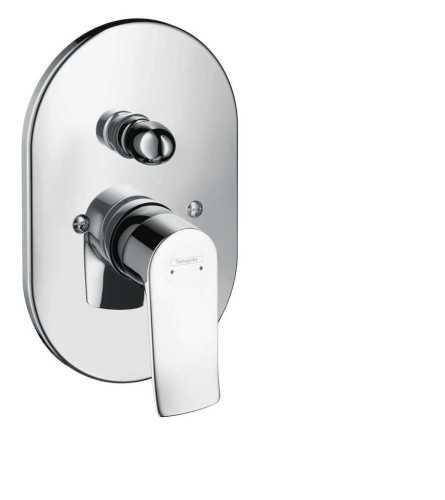 Hg Bath Mixer Concealed Metris BathroomBathroom TapsBathtub Taps