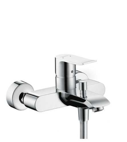 Hg Bath Mixer Wall Mounted Metris Dn15 BathroomBathroom TapsBathtub Taps
