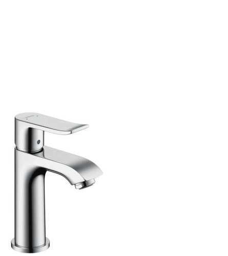 Hg Basin Mixer 100 Small Metris Chrome BathroomBathroom TapsWashbasin Taps