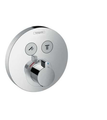 Thermostat For Concealed Installation For 2 Functions BathroomBathroom TapsBathtub Taps