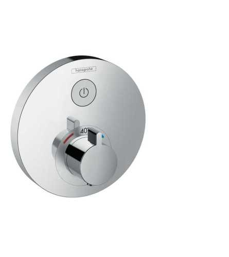Thermostat For Concealed Installation For 1 Function BathroomBathroom TapsBathtub Taps