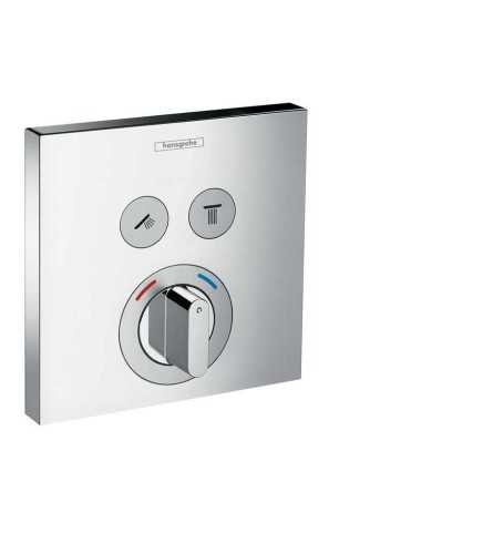 Mixer For Concealed Installation For 2 Functions BathroomBathroom TapsRemote Control Taps