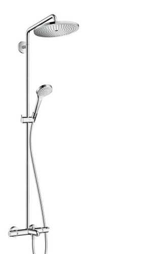 Showerpipe 280 1Jet With Bath Thermostat BathroomShowers And BathtubsShower Panels