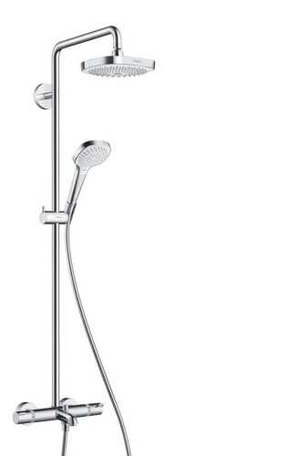 Showerpipe 180 2Jet With Bath Thermostat BathroomShowers And BathtubsShower Panels