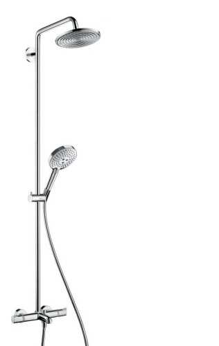 Showerpipe 240 1Jet With Bath Thermostat BathroomShowers And BathtubsShower Panels
