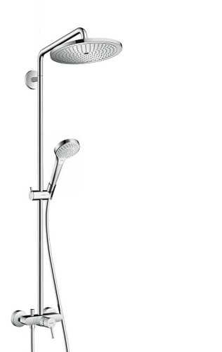 Showerpipe 280 1Jet With Single Lever Mixer BathroomShowers And BathtubsShower Panels