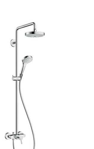 Showerpipe 180 2Jet With Single Lever Mixer BathroomShowers And BathtubsShower Panels