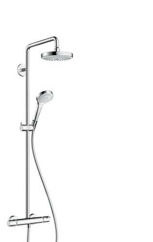 Showerpipe 180 2Jet With Thermostat BathroomShowers And BathtubsShower Panels