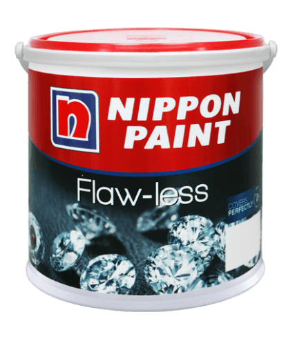 Nippon Flaw-Less ConstructionPaints And VarnishesWashable Water-Based Paints