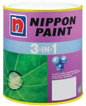 Nippon 3-In-1 ConstructionPaints And VarnishesWater Repellent Water-Based Paints