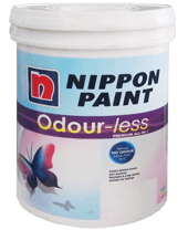 Nippon Odour-Less Premium All-In-1 ConstructionPaints And VarnishesWater Repellent Water-Based Paints
