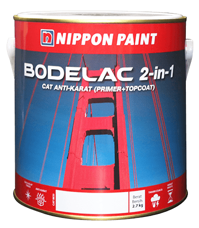 Bodelac 2-In-1 Cat-Anti Karat ConstructionPaints And VarnishesAnti-Corrosive And Anti-Rust Paints