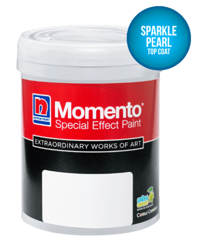 Nippon Momento Sparkle Pearl ConstructionPaints And VarnishesDecorative Painting Finishes