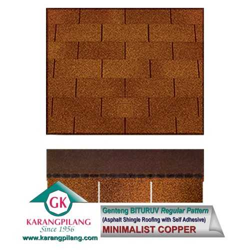 Minimalist Copper (Regular Pattern) ConstructionRoofsSheets And Panels For Roofs
