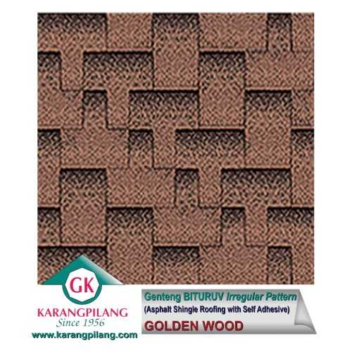 Foto produk  Golden Wood (Irregular Pattern) di Arsitag