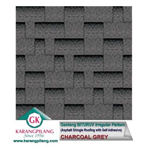 Chyarcoal Grey (Irregular Pattern) ConstructionRoofsSheets And Panels For Roofs