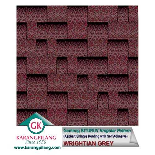 Wrightian Grey (Irregular Pattern) ConstructionRoofsSheets And Panels For Roofs
