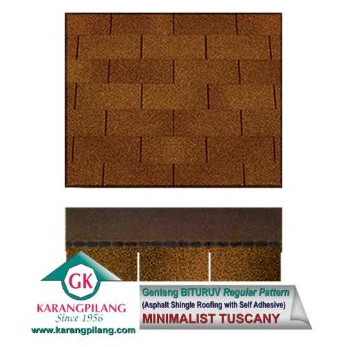 Minimalist Tuscany (Regular Pattern) ConstructionRoofsSheets And Panels For Roofs