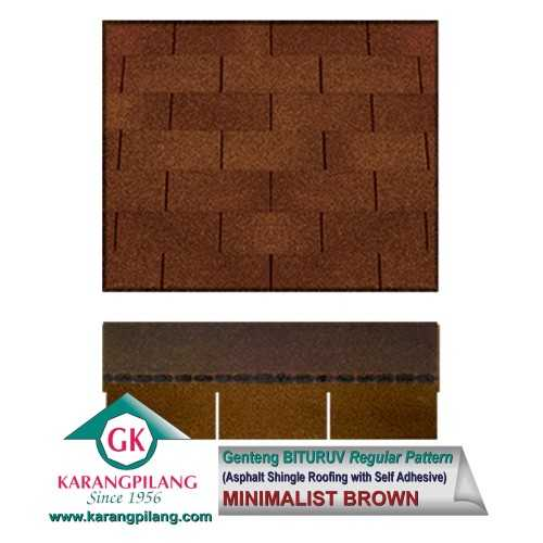 Minimalist Brown (Regular Pattern) ConstructionRoofsSheets And Panels For Roofs