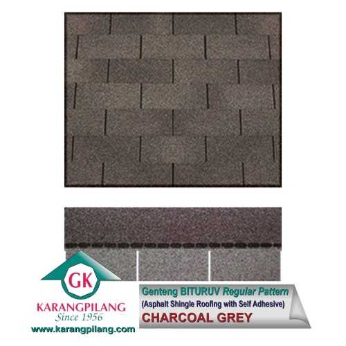 Foto produk  Charcoal Grey (Regular Pattern) di Arsitag