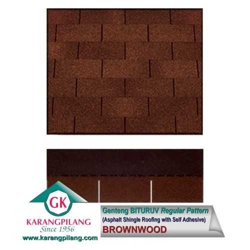 Brownwood (Regular Pattern) ConstructionRoofsSheets And Panels For Roofs