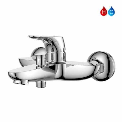Aer Kran Bathub Shower - Keran Air Panas Dingin Kuningan Sah Bl1 BathroomBathroom TapsBathtub Taps